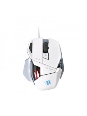 2NZ6755 - Mad Catz R.A.T. 3 Gaming Mouse for PC and Mac - White