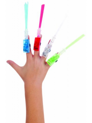 Toysmith Fiber Optic Lazer Fingers (4-Pack)