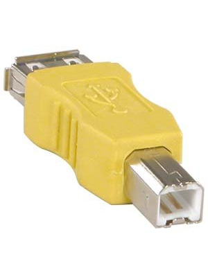 InstallerParts USB A-F/B-M Gender Changer – Female to Male Adapter