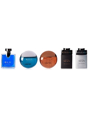 Bvlgari Collection 5 Piece Gift Set for Men