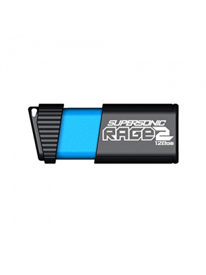 Patriot 128GB Supersonic Rage 2 Series USB 3.0 Flash Drive with Transfer Speeds Up to 400MB/sec (PEF128GSR2USB)