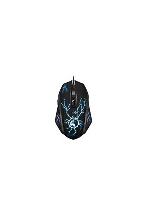 Crabot YP-001 Computer Mouse 1200 DPI/Ergonomic Computer Mouse/LED Wheel/3 Adjustable DPI Levels Selector with Multicolor Profile Selector, Wired Mouse for PC