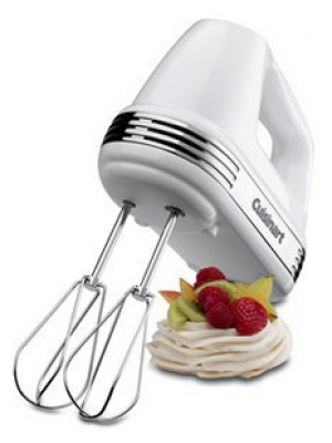 Cuisinart Hand Mixer - 7-speed - White