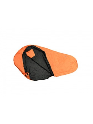 Guerrilla Packs Wrapper 50-Degree Compact Compression Sleeping Bag, Orange