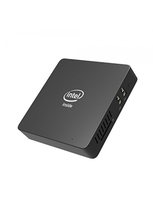 Z83-W Fanless Mini PC, Intel Cherry Trail x5-Z8350 (up to 1.92 GHz) HD Graphics, 2GB/32GB/ 4K/ 1000M LAN/ 2.4+5.8GHz WiFi/BT 4.0/ HDMI&VGA/Support Auto Power On
