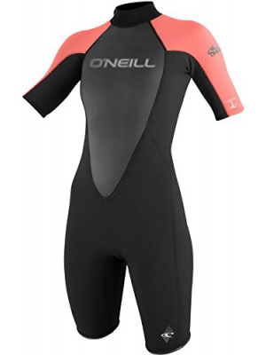 O'Neill Women's Reactor 2mm Short Sleeve Back Zip Spring Wetsuit