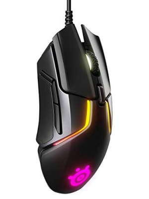 SteelSeries Rival 600 Gaming Mouse - 12,000 CPI TrueMove3+ Dual Optical Sensor - 0.5 Lift-off Distance - Weight System - RGB Lighting