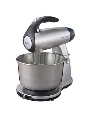 Sunbeam 2595 MixMaster Stand Mixer, Silver, 350 Watts by Sunbeam