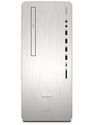 HP Envy Desktop Computer, Intel Core i5-8400, 12GB RAM, 1TB Hard Drive, 256GB SSD, Windows 10 (795-0010, Silver)