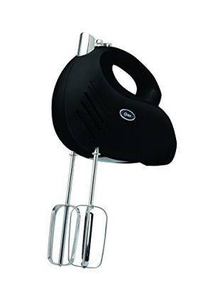 Oster FPSTHM2500B 2500 240-watt 5-Speed Hand Mixer, Black by Oster