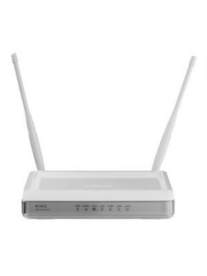 ASUS (RT-N12/B) Wireless-N 300 Advance wide coverage Home Router: Fast Ethernet, Build-in 5DBi antenna, 3 in 1 switch(Router/Repeater/Access Point) and support upto 4 Guest SSID(Open source DDWRT Support)
