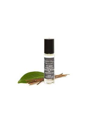 Tobacco & Cedar Wood Oil - Tobacco Cologne - Men's Cologne - Essential Oils - Fragrance Oil - Men's Fragrance Oil - Cedar Wood Essential Oil - Tobacco Oil - Men's Fragrance - Rollerball Fragrance