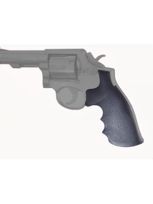 Hogue Rubber Grip S&W K or L Square Butt Rubber Monogrip