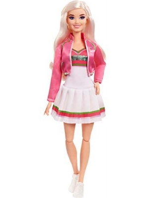 "Zombies Disney's 2, Addison Wells Doll (11.5-inch) Wearing Cheerleader Outfit and Accessories, 11 Bendable ""Joints,"" Great Gift for Ages 5+"