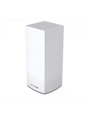 Linksys Velop WiFi 6 Mesh Router (WiFi 6 Mesh WiFi System for Whole-Home WiFi Mesh Network) MX5 Velop Ax (1-Pack, White)