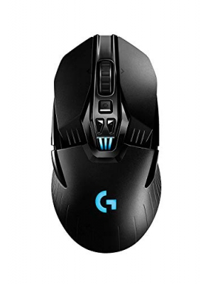 Logitech G903 Lightspeed Wireless Gaming Mouse W/Hero 16K Sensor, 140+ Hour with Rechargeable Battery and Lightsync RGB. PowerPlay Compatible, Ambidextrous, 107G+10G Optional, 16, 000 DPI