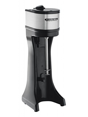 Proctor Silex Commercial 60200 Drink Mixer, Single Spindle, 300W, 2 Speeds, Includes S/S Cup, Black