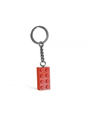 LEGO Red Brick Key Chain
