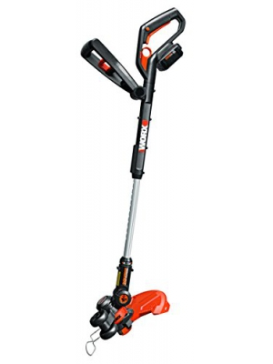 WORX WG160.4 GT 2.0 Hi-Capacity (4.0AH) 20V String Trimmer/Edger/Mini-Mower with 2 Batteries