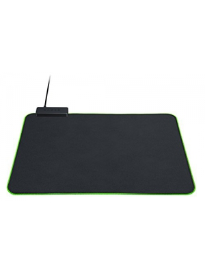 Razer Goliathus Chroma Gaming Mouse Pad: Customizable Chroma RGB Lighting - Soft, Cloth Material - Balanced Control & Speed - Non-Slip Rubber Base - Matte Black