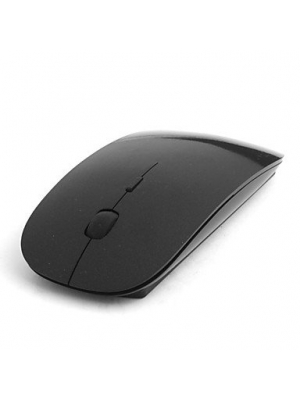 2.4ghz Wireless 800/1200dpi Optical Mouse with USB Receiver (Black)