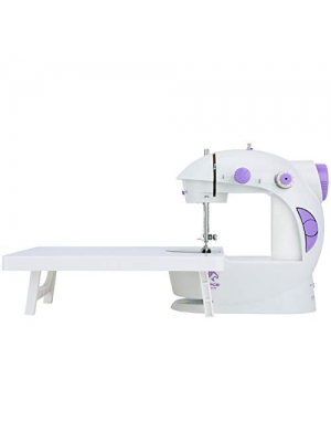 Varmax Mini Sewing Machine with Extension Table, Upgraded Version
