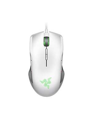 Razer Lancehead TE Ambidextrous Gaming Mouse: 16,000 DPI Optical Sensor - Chroma RGB Lighting - 8 Programmable Buttons - Mechanical Switches - Mercury White