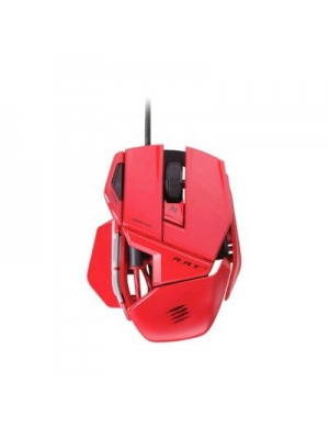 2NZ6757 - Mad Catz R.A.T. 3 Gaming Mouse for PC and Mac - Red