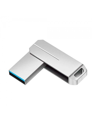 UPSTONE 128GB USB 3.0 Flash Drive Memory Stick high Speed Thumb Drive USB Memory Stick Waterproof (Silver128GB)