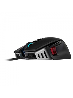 CORSAIR M65 ELITE RGB - FPS Gaming Mouse - 18,000 DPI Optical Sensor - Adjustable DPI Sniper Button - Tunable Weights -  Black