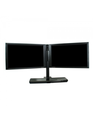 EVGA 200-LM-1700-KR InterView Monitor Dual 17-Inch Widescreen Monitor LCD 1400X900 500:1 8MSREFER Direct Only