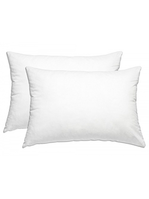 SmartHome Bedding (2-Pack) Hotel Collection Plush Pillow - Down Alternative Pillows, Queen