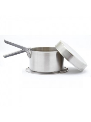 Kelly Kettle USA - Large Cookset for Scout or Base Camp - Statement will show a charge by Sephra Kelly.