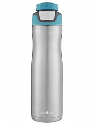 Contigo AUTOSEAL Chill Stainless Steel Water Bottle, 24 oz, SS Scuba
