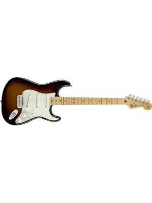 Fender Standard Stratocaster Electric Guitar - Maple Fingerboard, Brown Sunburst
