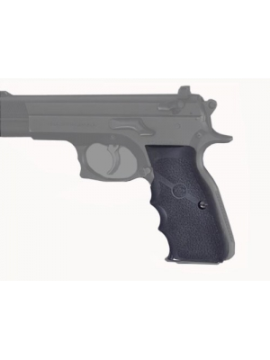 Hogue Rubber Grip CZ-75, TZ-75 P-9 Rubber Wraparound with Finger Grooves