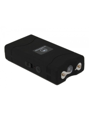 Vipertek VTS-880B V Mini Stun Gun Rechargeable with LED Flashlight (Black)