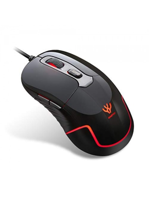 HIMIFOY Wired Gaming Mouse 3200 DPI 4 Adjustable DPI Levels 1200/1600/2400/3200 Computer Mice Wired Mouse Desktop Laptop PC Gaming Mouse with Breathing Light & 6 Buttons for Windows 7/8/10/XP
