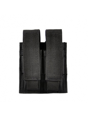 VIVOI Pistol Double Mag Pouch Adapts to Military SWAT Police Utility Belt or Molle Equipment Tactical Vest