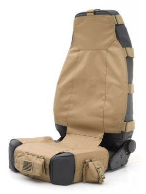 Smittybilt 5661024 GEAR Tan Front Seat Cover