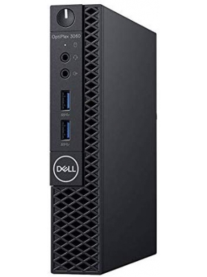 Dell Optiplex 3060 Micro PC Desktop, Intel Core i5-8500T 2.1GHz 6-Core (Hexa Core), 8GB DDR4 RAM, 256GB SSD, Windows 10 Pro, 3YR Warranty