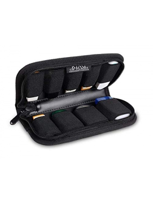 King of Flash 9 x USB Flash Drives Carrying Case with Premium Quality Padded Protection for Flash/key Drives - Black
