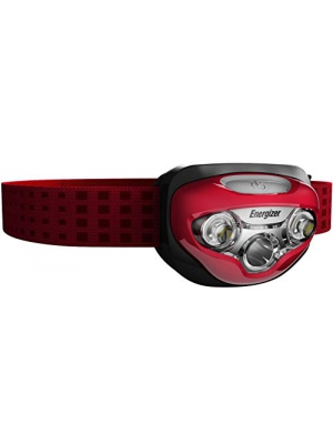 Energizer HDB32E LED Headlamp with HD Vision Optics, 3 Modes (Batteries Included)