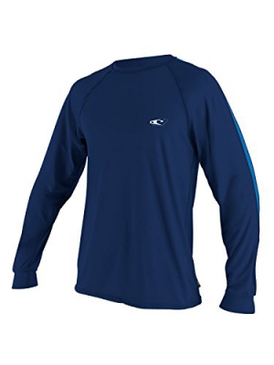 O'Neill Mens 24/7 Longsleeve Sun Tee: Looser Fit Swim Shirt (Regular & Big/Tall)