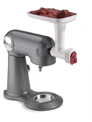 Cuisinart MG-50 Meat Grinder with Sausage Stuffer Attachment, White