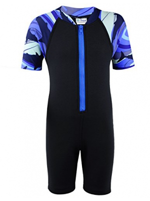 Tuga Boys Thermal Wetsuit 1 - 14 years, UPF 50+ Sun Protection