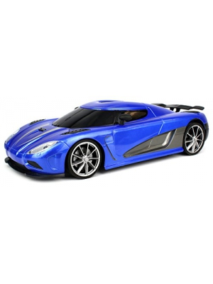 Velocity Toys WFC Koenigsegg Agera R Remote Control Car 1:16 Scale Size with Bright LED Headlights