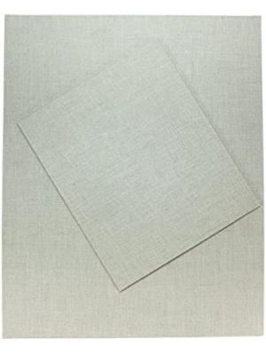 "Frisk Natural Linen Canvas Board - 406 x 308mm (16"" x 12"") Pack of 4"