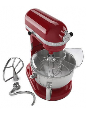 KitchenAid Pro 600 ksm6573er Stand Mixer 10-speed RED Professional heavy duty