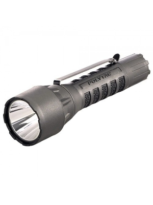 Streamlight 88860 PolyTac LED HP Flashlight with Lithium Batteries, Black - 275 Lumens